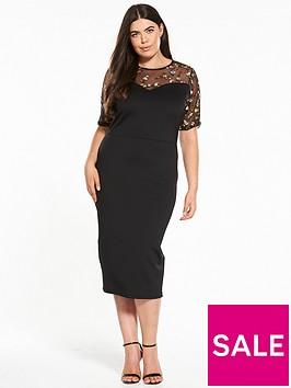 v-by-very-curve-embroidered-yoke-bodycon-dress