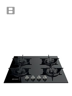 indesit-aria-pr642ibkuk-60cmnbspbuilt-in-gas-hob-with-fsd-and-optional-installation-black