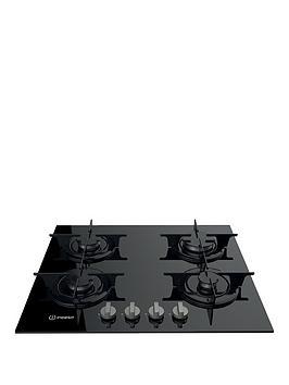 indesit-aria-pr642ibkuk-60cmnbspbuilt-in-gas-hob-with-fsd-black