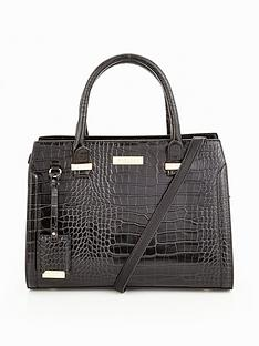 carvela-holly-croc-tote-bag
