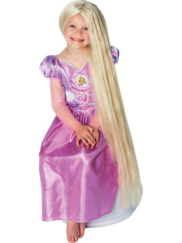 Disney Princess Rapunzel Long Glow In The Dark Childs Wig Very Co Uk