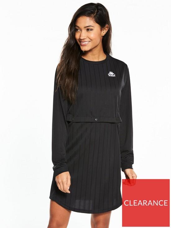179d9406515 Kappa Lollipop Popper 2-in-1 Dress - Black