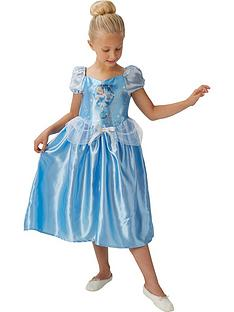 disney princess childs fairytale cinderella childs costume with free book