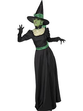 ladies-halloween-wicked-witch-costume