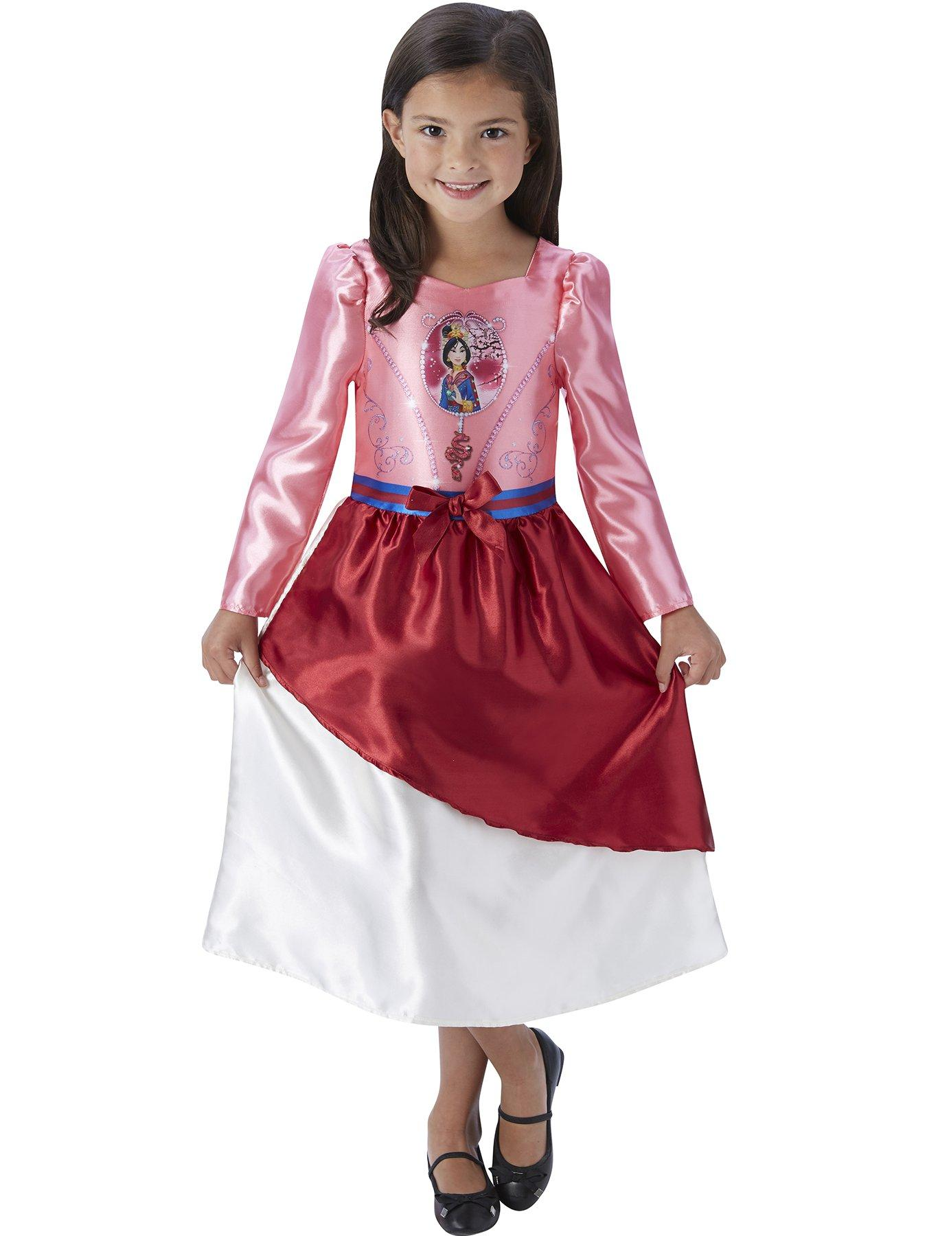 Disney Princess ~ Tiana storytime Kids Costume 3-4 Years