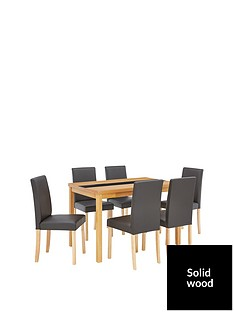 evelyn-120-cm-solid-wood-and-glass-table-6-lucca-chairs