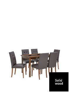 evelyn-120-cm-solid-wood-and-glass-table-6-derby-chairs