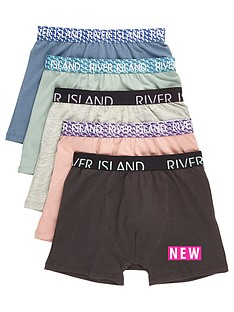 river-island-boys-blue-geo-waistband-boxers-multipack