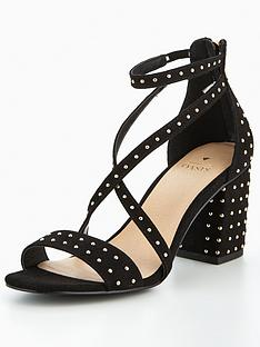 oasis-studded-block-heel-sandals