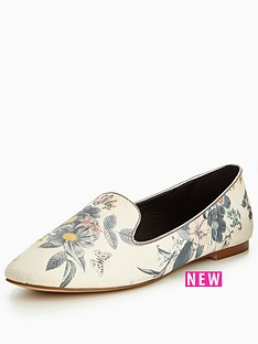 oasis-printed-slipper-shoe
