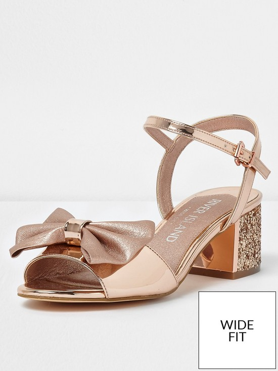River Island Wide Fit Sandales - tan 2drLhzdq