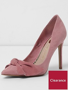 river-island-pip-bow-court-shoe