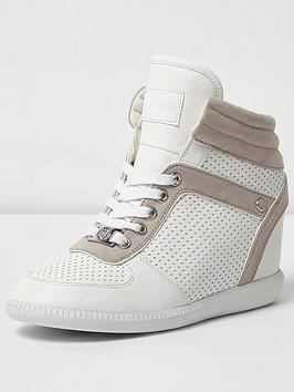 river-island-poppy-high-top-trainer
