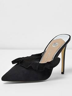 river-island-ruffle-mule-court-shoe