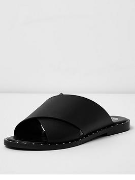 river-island-studded-flat-sandal