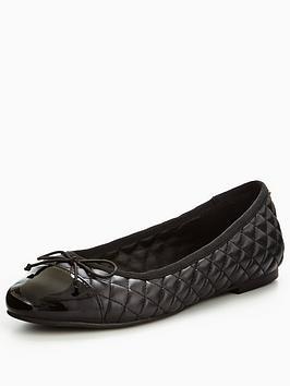 oasis-quilted-ballerina-shoe