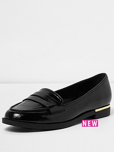 river-island-black-tazmin-loafer