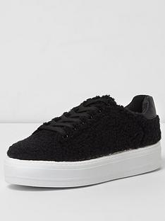river-island-black-borg-lace-up-trainer