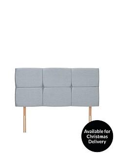 airsprung-riva-faux-wool-double-headboard