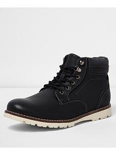 river-island-lace-up-contrast-sole-boot