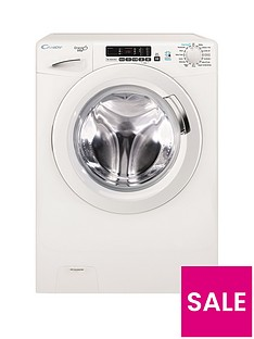 Candy GVS149D3 Grand'O Vita Smart Touch 9kg Load, 1400 Spin Washing Machine - White