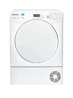 Candy Smart CSC9LF 9kg Load Condenser Sensor Tumble Dryer - White