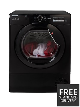 hoover-link-hlc8lgb-8kgnbspcondenser-sensor-tumble-dryer-with-one-touchnbsp--black
