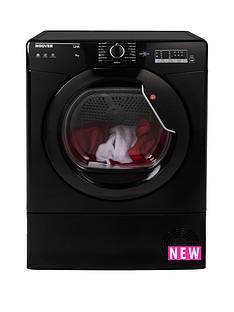 Hoover Link HLC8LGB 8kgCondenserTumble Dryer - Black