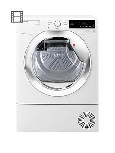 hoover-one-touchnbspdxc8tce-8kgnbspcondenser-tumble-dryer-whitechrome