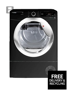 hoover-dynamic-next-dxc8tceb-8kgnbspload-aquavision-condenser-tumble-dryer-with-one-touch-blackchrome