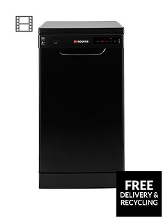 Hoover HDP2D1049B 10-Place Slimline Dishwasher - Black