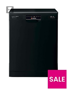 Hoover Dynamic Mega HDP1T64PW3B 16-Place Dishwasher - Black