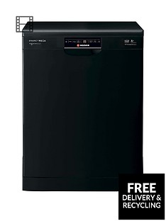 Hoover Dynamic Mega HDP1T64PW3B 16-Place Dishwasher - Black Best Price, Cheapest Prices