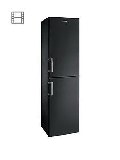 Hoover HVBF 5172 BHK 55cm Frost-Free Fridge Freezer - Black