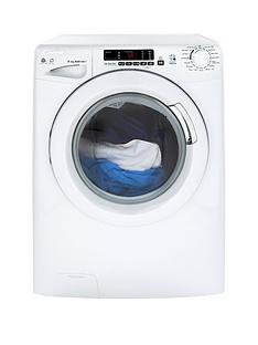 Candy GVSW485DC 8kg Wash, 5kg Dry, 1400 Spin Washer Dryer with Smart Touch - White