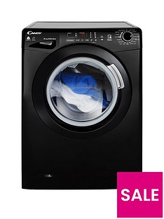 candy-smart-touchnbspgvsw485db-8kg-washnbsp5kg-dry-1400-spin-washer-dryer-black