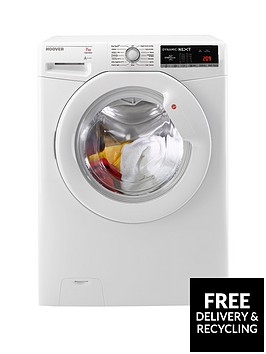 hoover-dynamic-nextnbspdxoa147lw3-7kg-load-1400-spin-washing-machine-with-one-touch-white