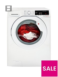 Hoover Dynamic NextDXOA67LW3 7kgLoad, 1600 Spin Washing Machine with One Touch - White