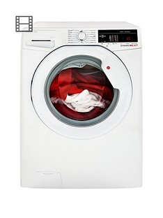 Hoover Dynamic Next DXOA67LW3 7kg Load, 1600 Spin Washing Machine with One Touch - White