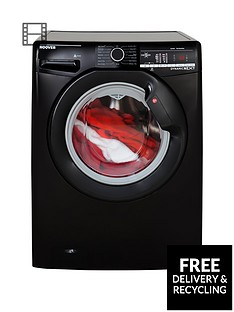 Hoover Dynamic Next DXOA67LB3B 7kg Load, 1600 Spin Washing Machine with One Touch - Black