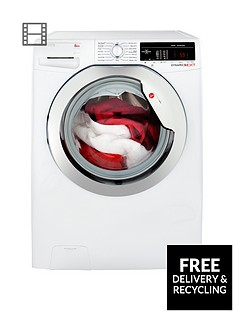 hoover-dynamic-nextnbspdxoa48c3-8kg-load-1400-spin-washing-machine-with-one-touch-whitechrome