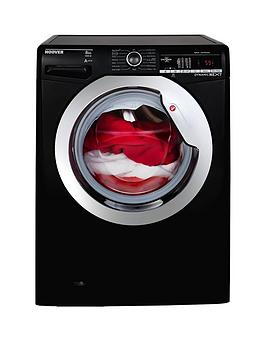 hoover-dynamic-nextnbspdxoa48c3b-8kgnbspload-1400-spin-washing-machine-with-one-touch-blackchrome