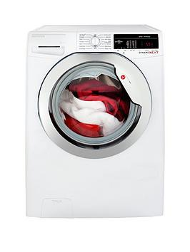 hoover-dynamic-next-dxoa49c3-9kg-load-1400-spin-washing-machine-with-one-touch-whitechrome