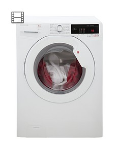 Hoover Dynamic Next DXOA49LW3 9kg Load, 1400 Spin Washing Machine with One Touch - White