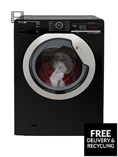 hoover-dynamic-nextnbspdxoa410c3b-10kg-load-1400-spin-washing-machine-with-one-touch-blackchrome
