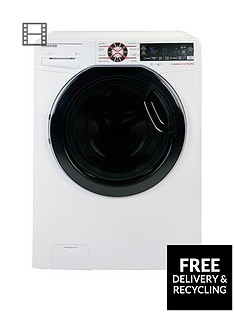 Hoover Dynamic Extreme DWFT410AH8 10kg Load, 1400 Spin Washing Machine with One-Fi Extra - White/Tinted