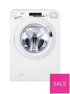 Candy Grand'O Vita GVS 1672D3 7kg Load, 1600 Spin Washing Machine with Smart Touch - White