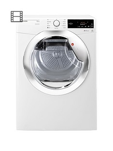 hoover-dynamic-dx-c10tce-10kgnbspaquavision-condenser-tumble-dryer-whitechrome