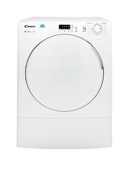 Candy Smart Csv9Lf 9Kg Load Vented Sensor Tumble Dryer With Smart Touch - White