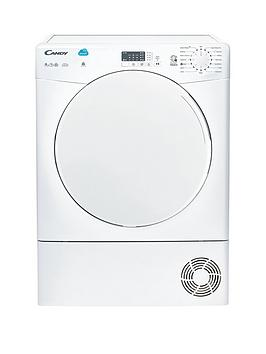 candy-csc9lf-9kg-load-condenser-sensor-tumble-dryer-with-smart-touch-white